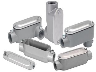 चीन Powder Coating Stainless Steel Conduit Fittings , Custom Rigid Metal Conduit Fittings आपूर्तिकर्ता
